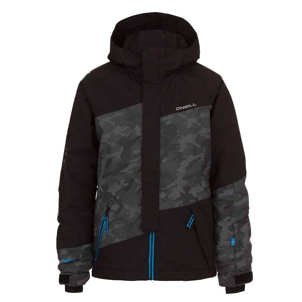 O'Neill Thunder Peak Insulated Snowboard Jacket (Boys') - Black Out