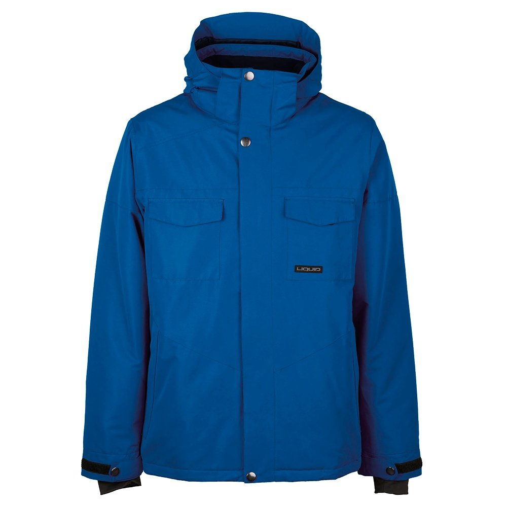 Liquid Fox Insulated Snowboard Jacket (Men's) - Snorkel Blue