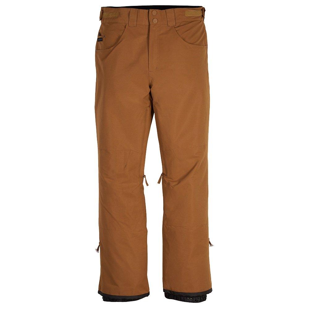 Liquid Krave Shell Snowboard Pant (Men's) - Bronze Brown