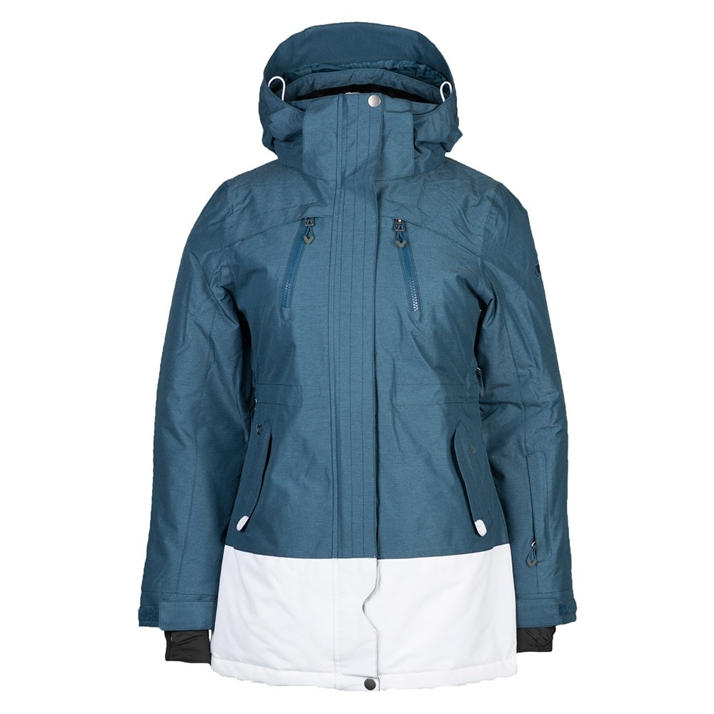 Liquid Bijy Insulated Snowboard Jacket (Women's) - Blue Wing Teal