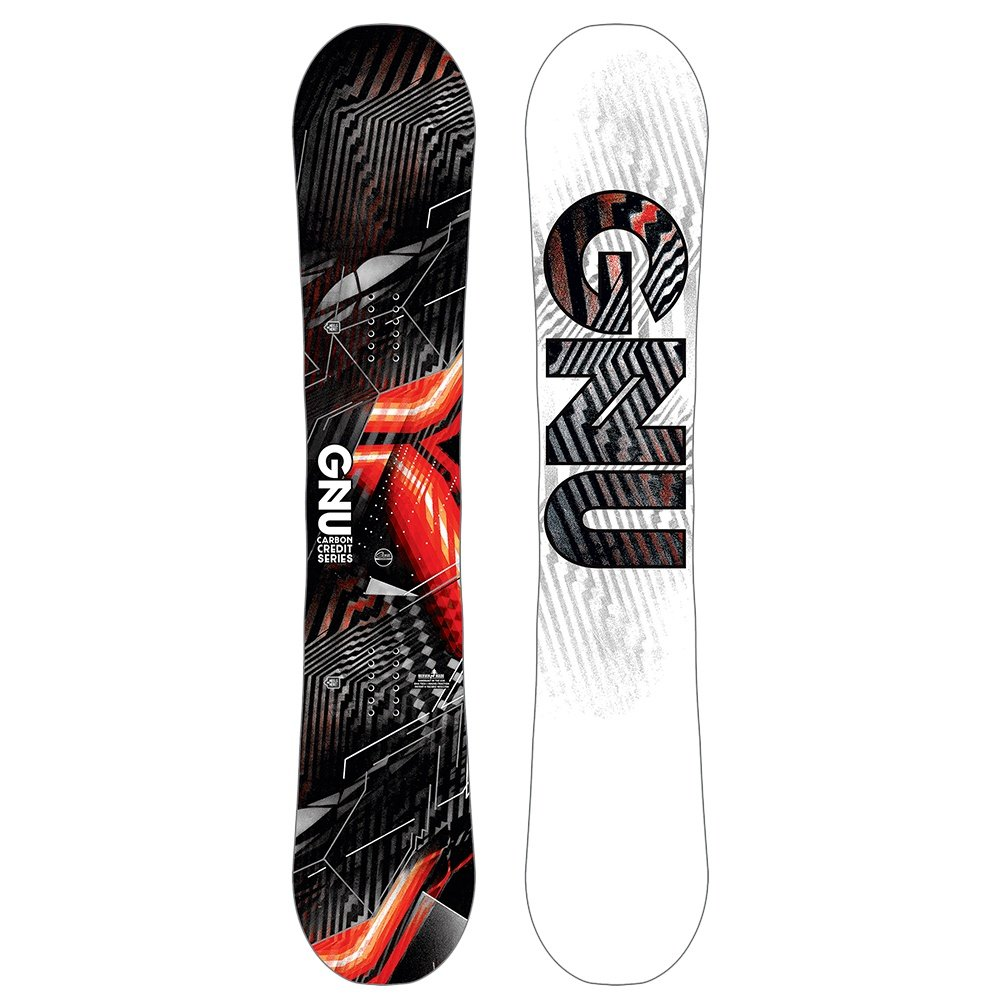 GNU Carbon Credit Asym Snowboard (Men's) - 156