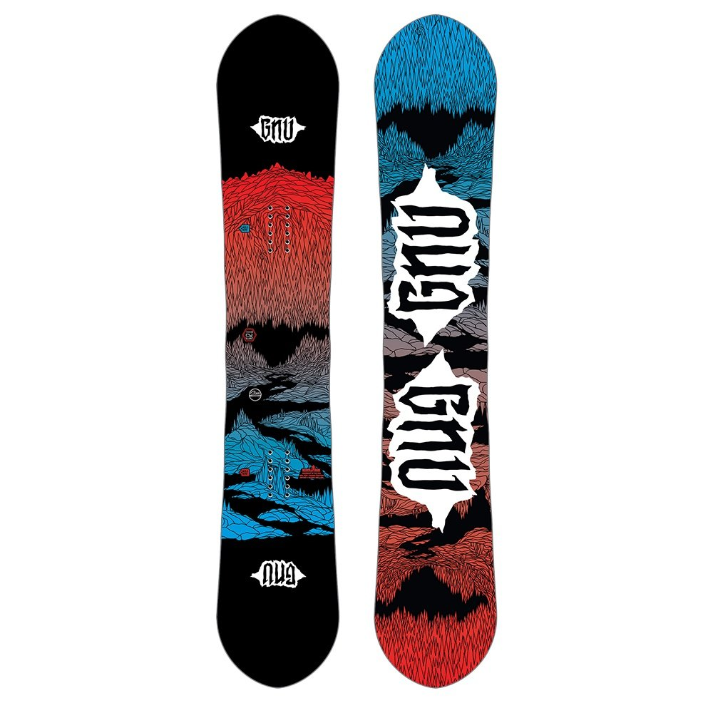 GNU T2B Mid-Wide Snowboard (Men's) - 158