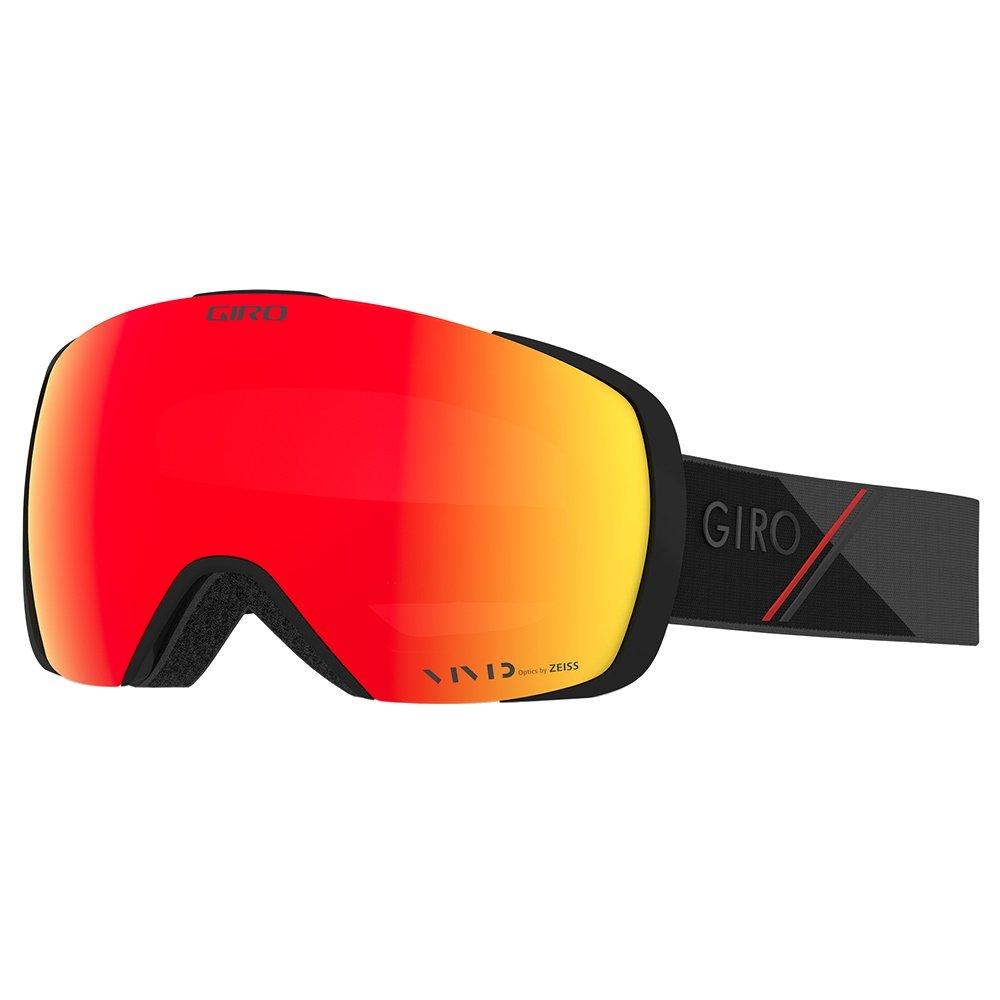 Giro Contact Goggles (Men's) - Black/Red Sport Tech