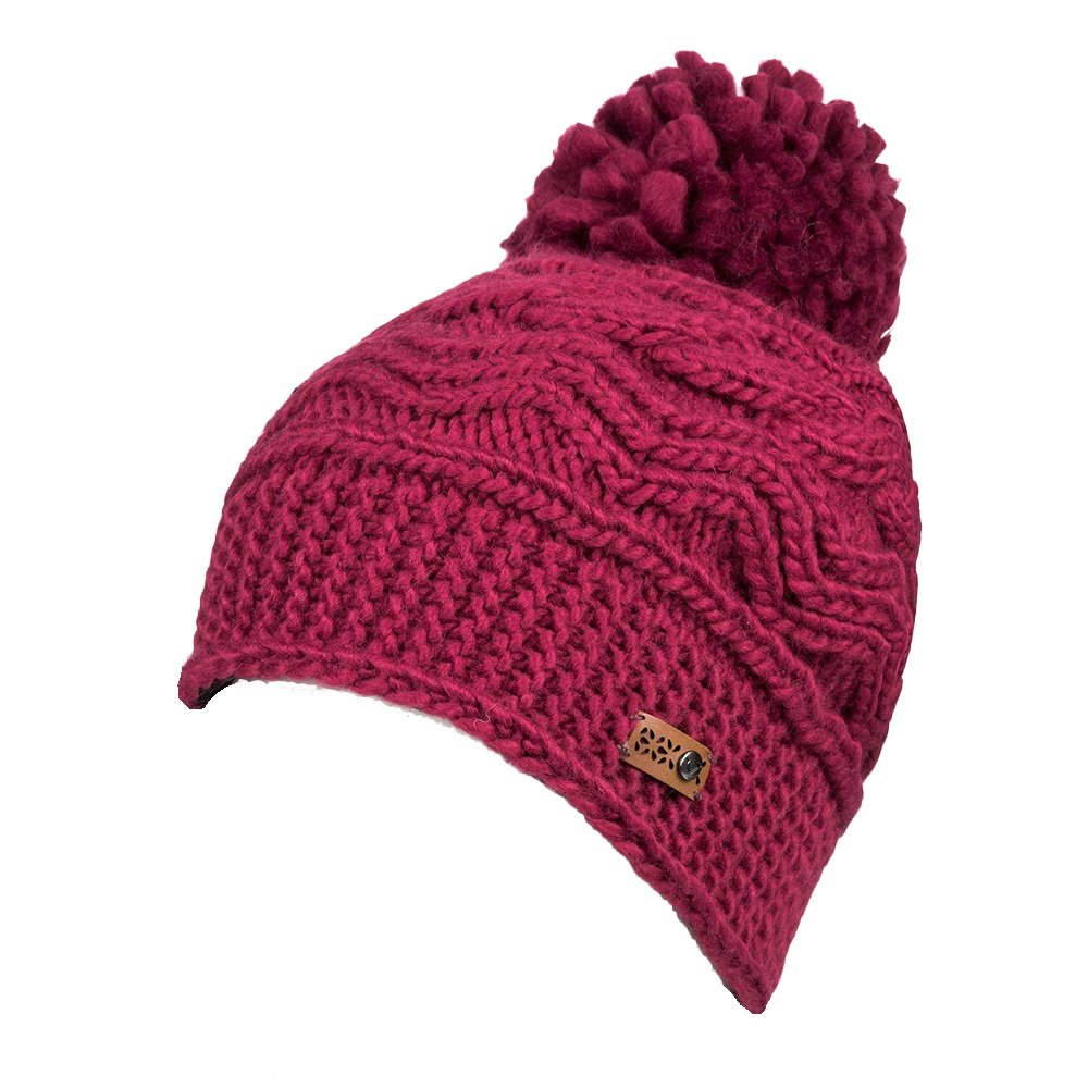 Roxy Winter Beanie (Women's) - Beet Red