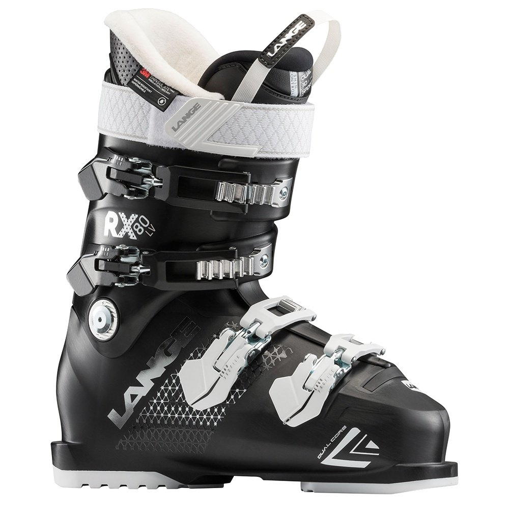 Lange RX 80 LV Ski Boot (Women's) - Black