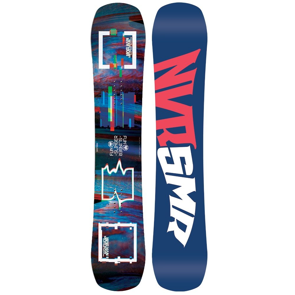 Never Summer Funslinger X Wide Snowboard (Men's) - 157