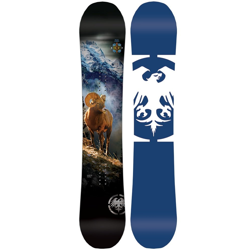 Never Summer West X Wide Snowboard (Men's) - 164