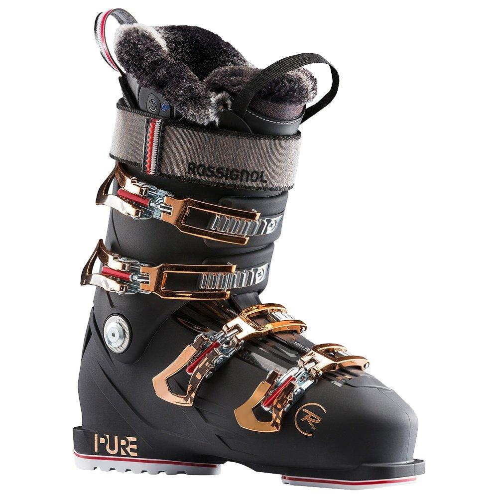Rossignol Pure Pro Heat Ski Boot (Women's) - Night Black