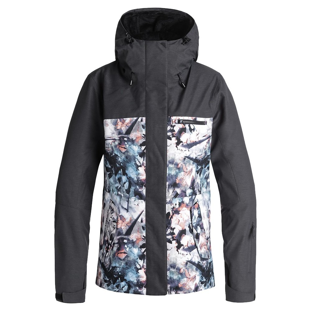 Roxy Jetty 3-in-1 Insulated Snowboard Jacket (Women's) - Bachelor Button/Water of Love