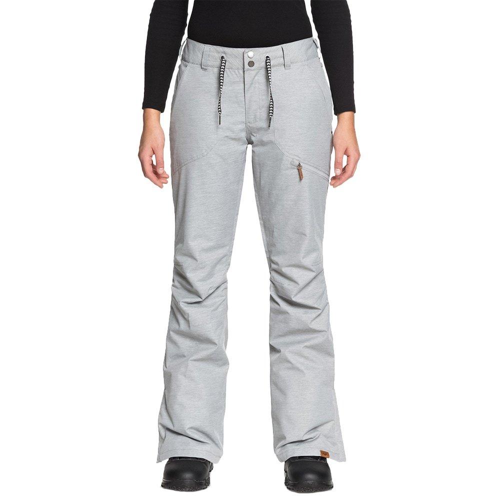 Roxy Nadia Insulated Snowboard Pant (Women's) - Warm Heather Grey