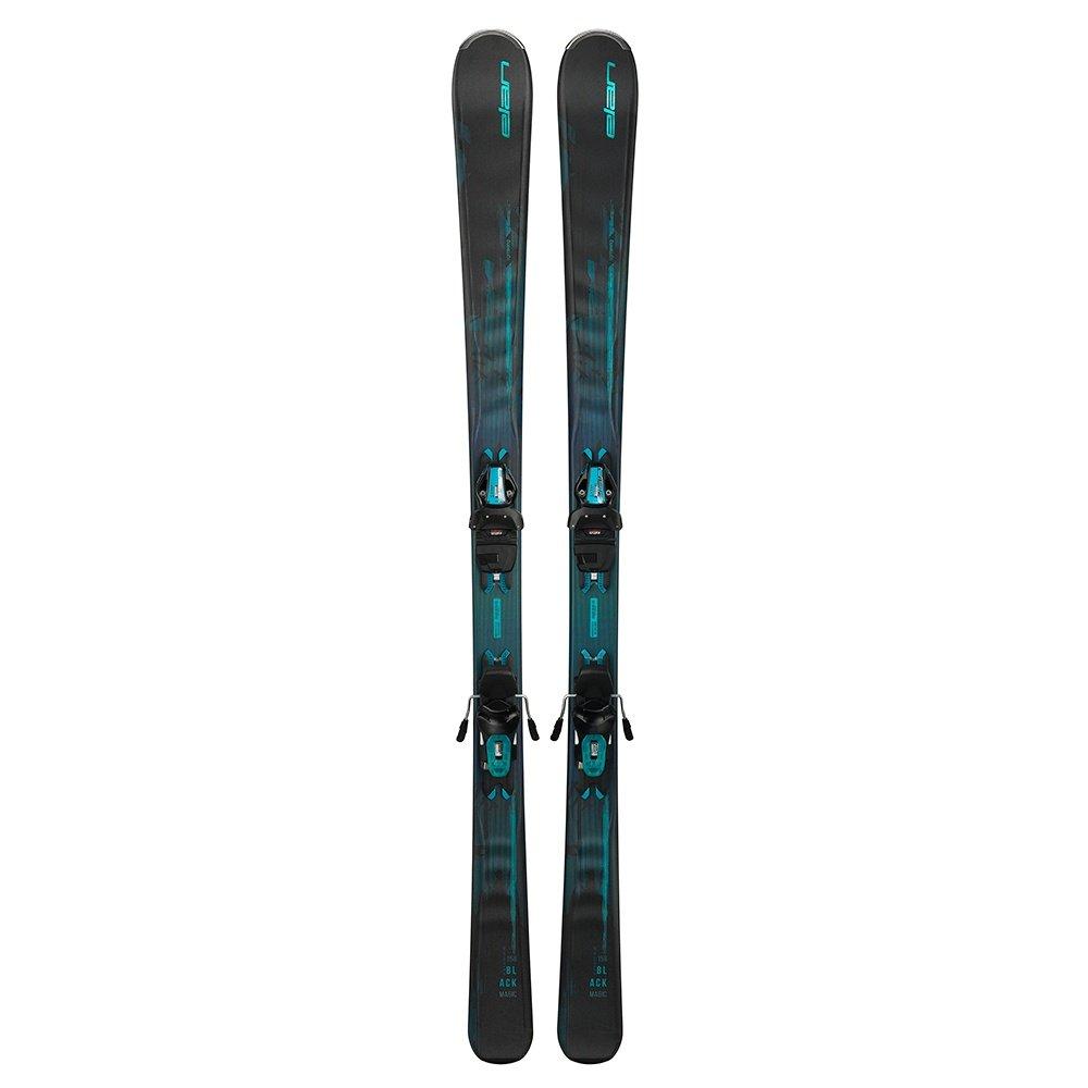 Elan Black Magic Ski System with ELW 9.0 Bindings (Women's) -