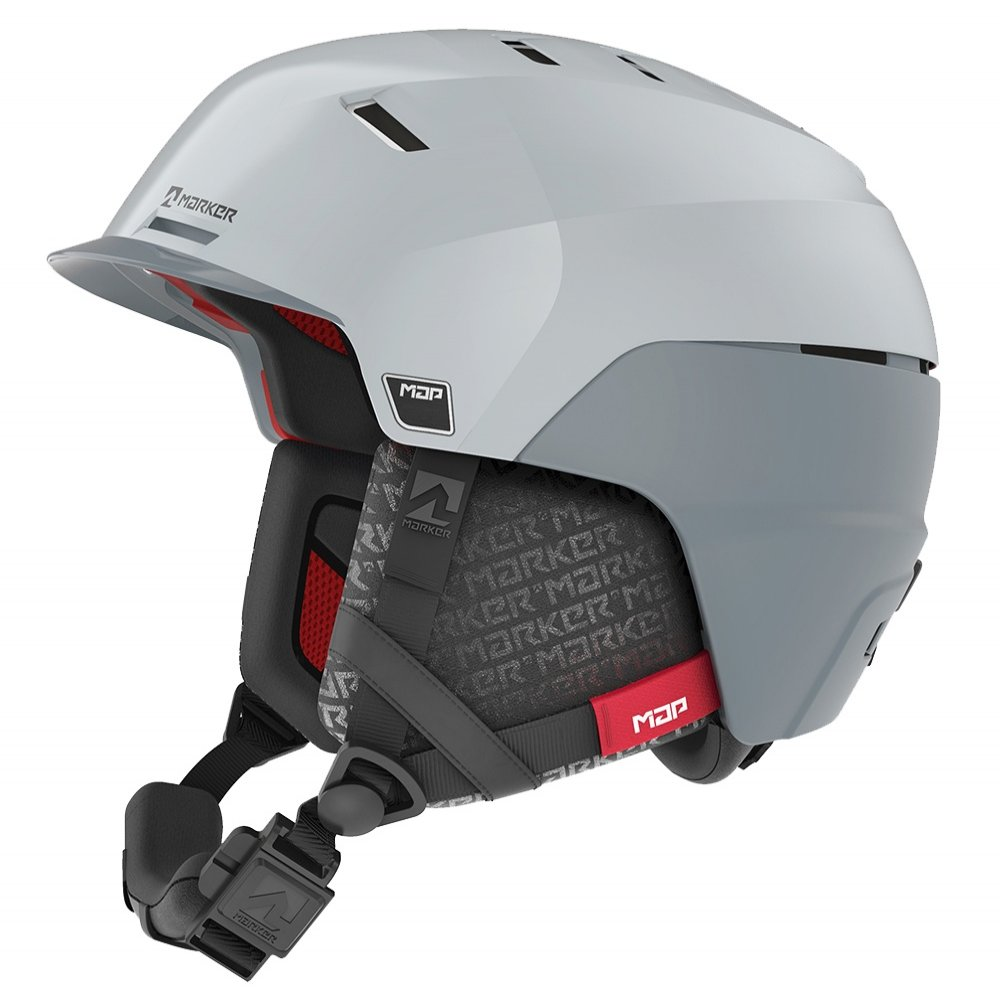 Marker Phoenix MAP Helmet (Men's) - White/Grey