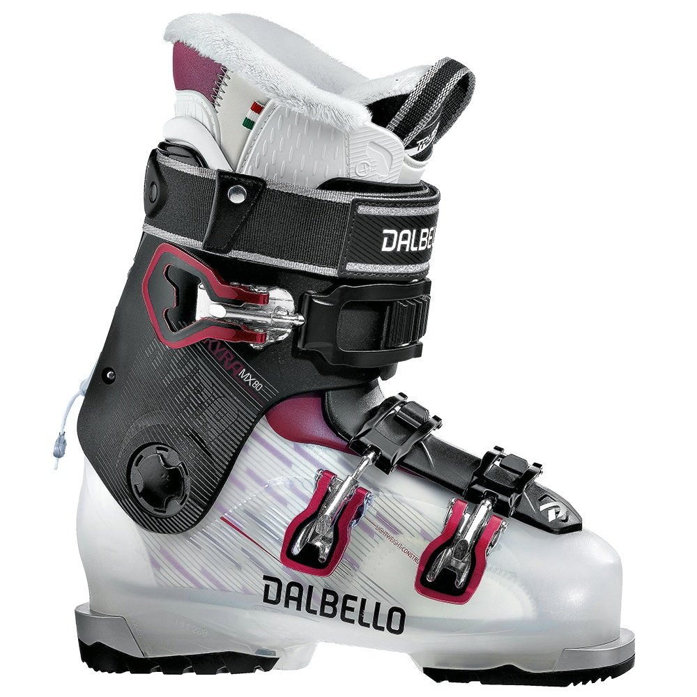 Dalbello Kyra 80 MX Ski Boot (Women's) - Tranparent Black