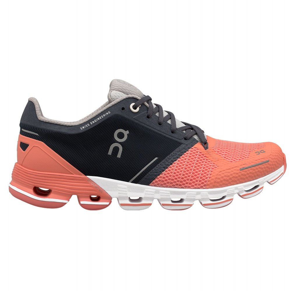 On Cloudflyer Running Shoe (Women's) - Salmon/Ink