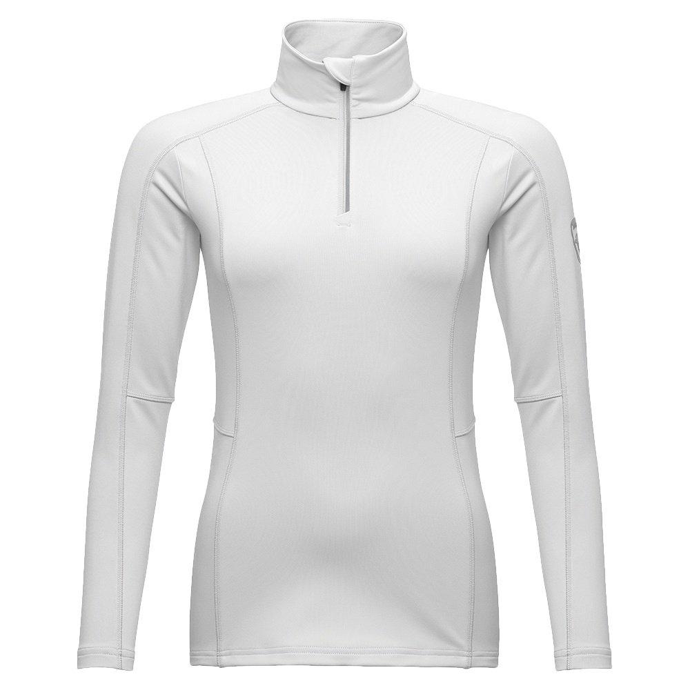 Rossignol Classique 1/2 Zip Mid-Layer (Women's) - White