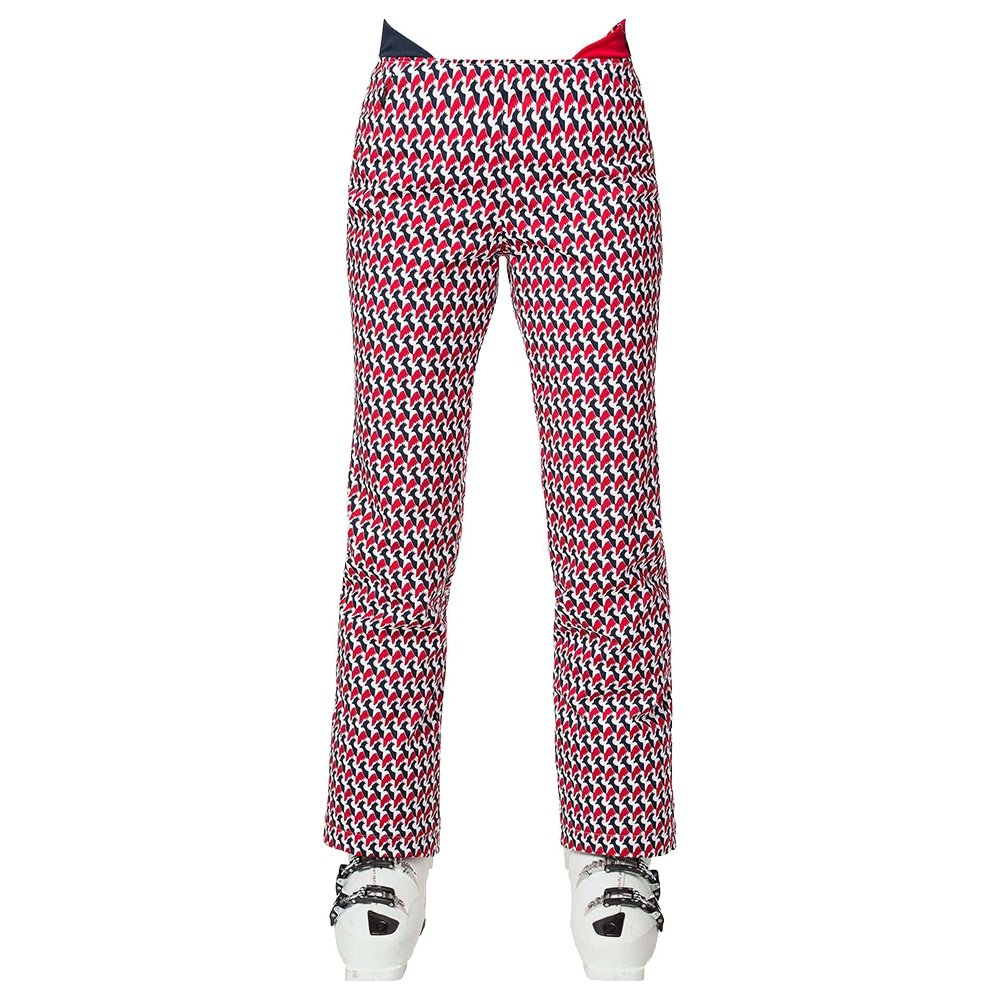 Rossignol Medaille Print Insulated Ski Pant (Women's) - Carmin