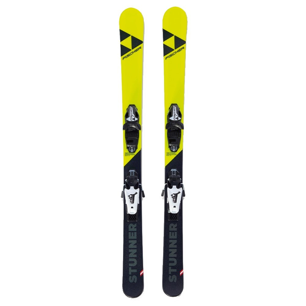 Fischer Stunner Ski System with FJ4 AC Bindings (Kids') -