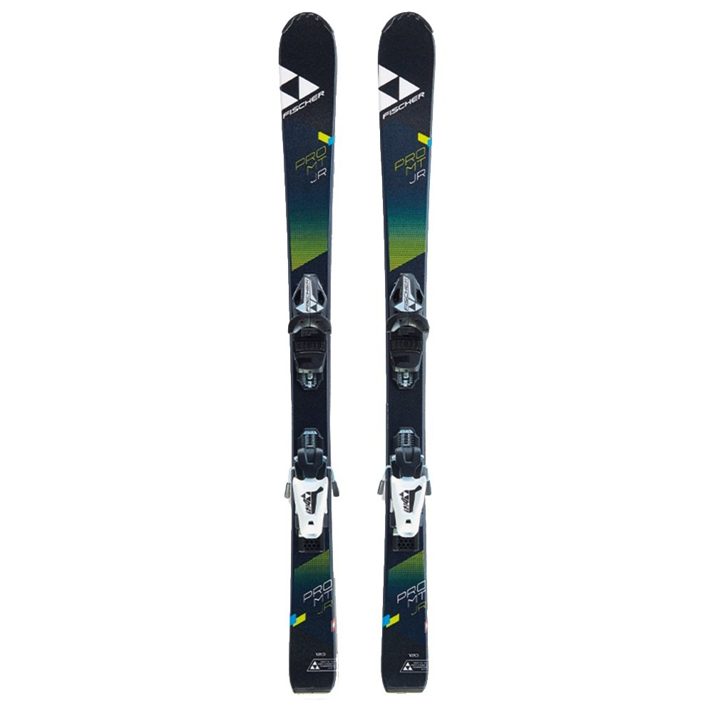 Fischer Pro Mountain Jr. Ski System with FJ4 Bindings (Kids') -
