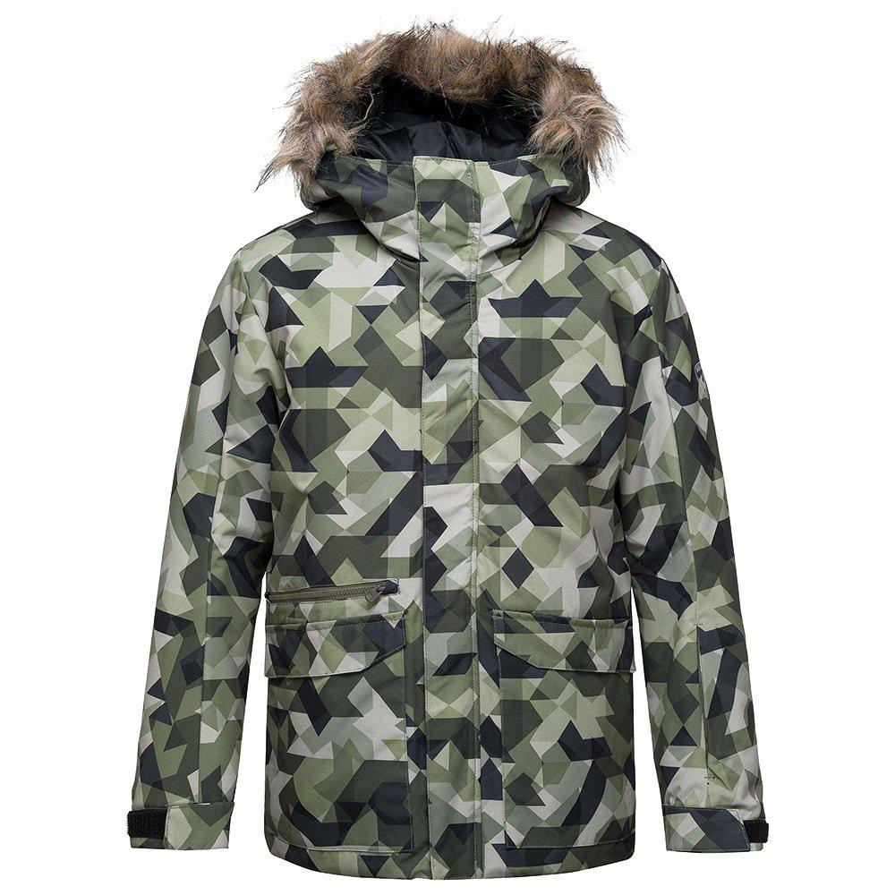 Rossignol Boy Parka PR Insulated Ski Jacket (Boys') - Military Camo