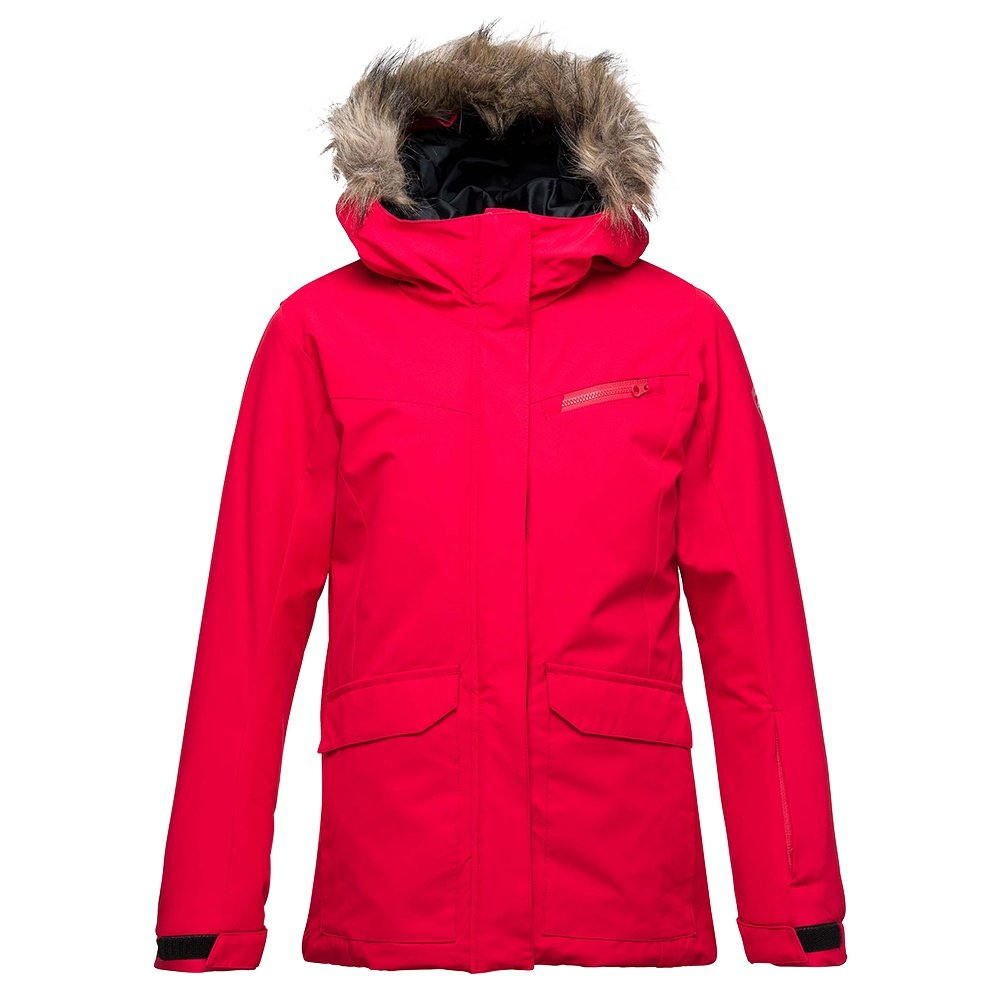 Rossignol Girl Parka Insulated Ski Jacket (Girls') - Rosewood