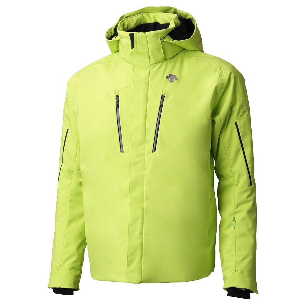 Descente Glade Insulated Ski Jacket (Men's) - Lime/Black