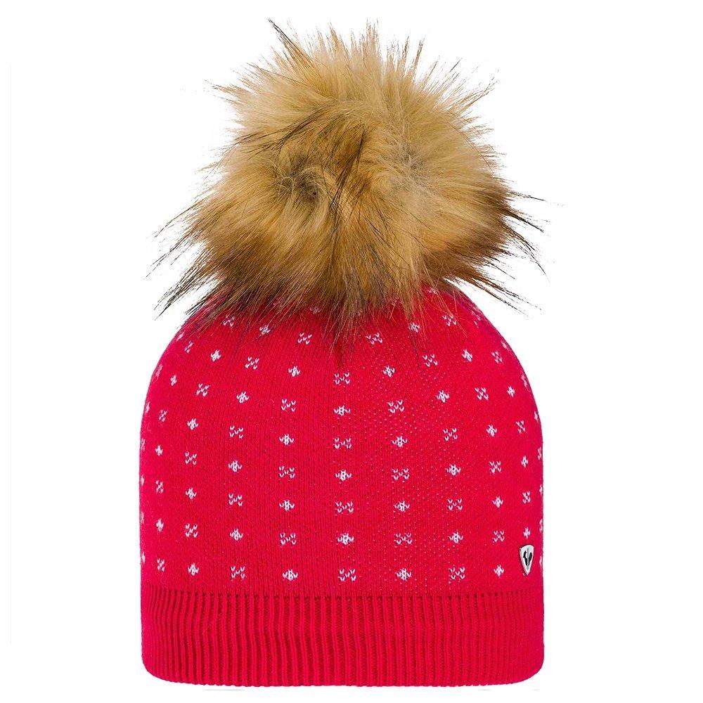 Rossignol Jr Myla Fur Hat (Girls') - Rosewood