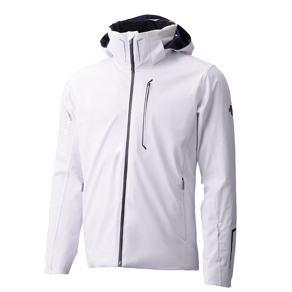 Descente Reign Insulated Ski Jacket (Men's) - Super White/White