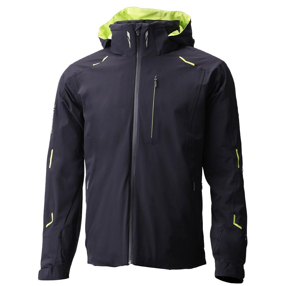 Descente Regal Insulated Ski Jacket (Men's) - Black/Lime