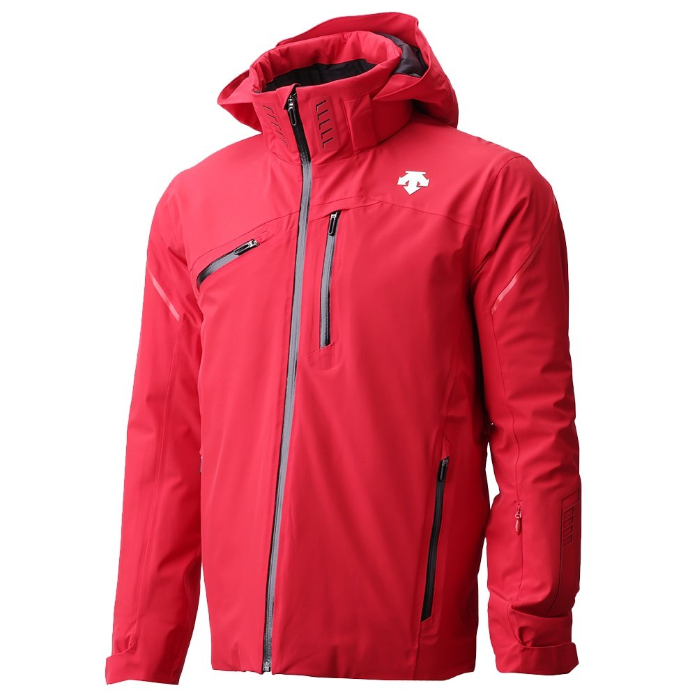 Descente Fusion Insulated Ski Jacket (Men's) - Electric Red /Black