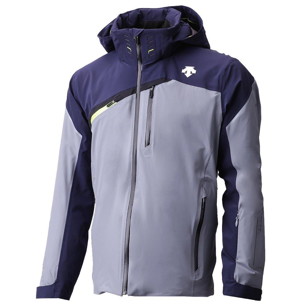 Descente Fusion Insulated Ski Jacket (Men's) - Artic Storm/Dark Night/Black