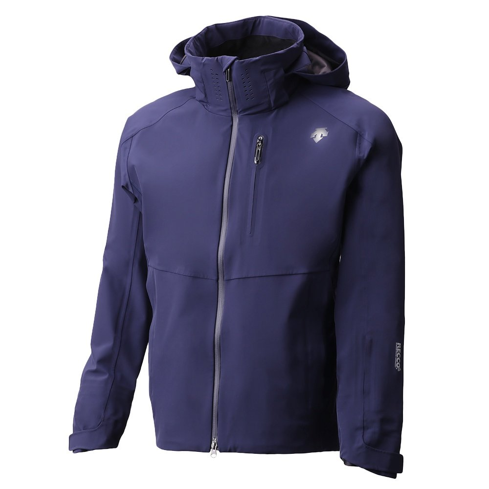 Descente Octane 3L Shell Ski Jacket (Men's) - Dark Night