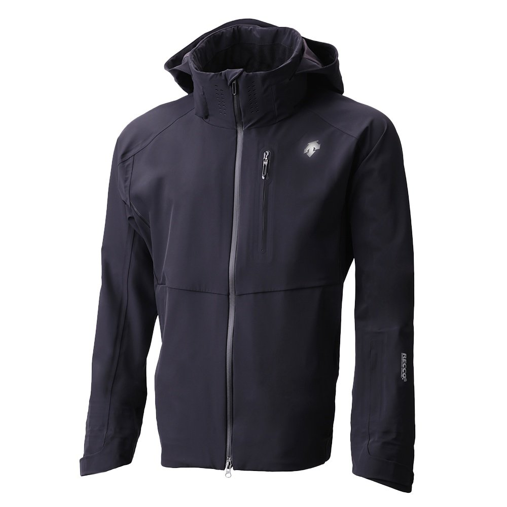 Descente Octane 3L Shell Ski Jacket (Men's) - Black