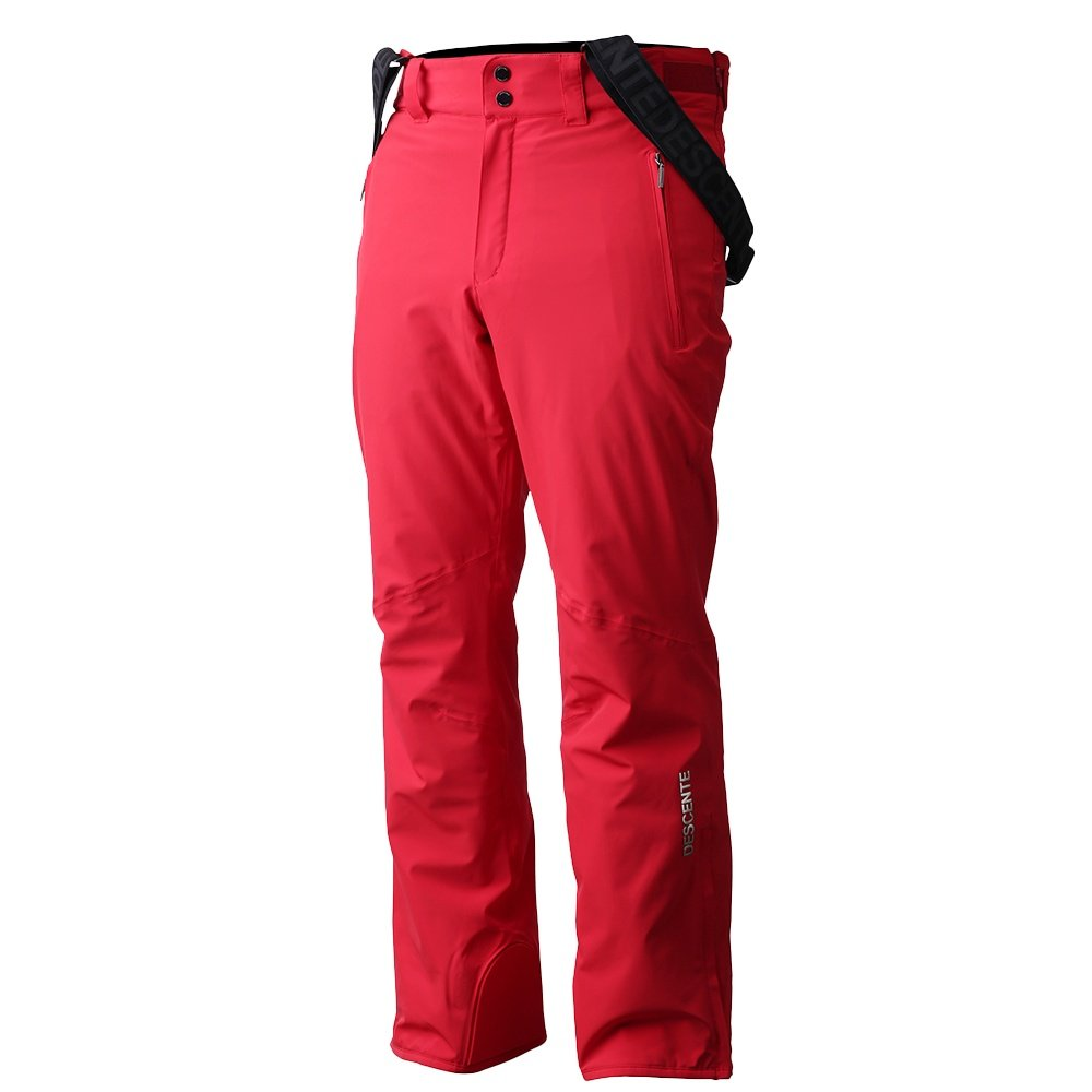 Descente Swiss Team Insulated Ski Pant (Men's) - Electric Red