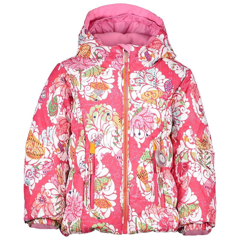 Obermeyer Cakewalk Insulated Ski Jacket (Little Girls') - Frost Garden Print