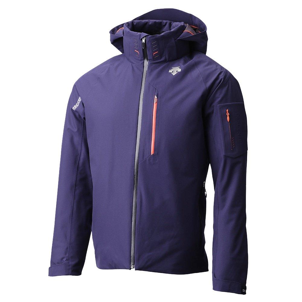 Descente Thayne Insulated Ski Jacket (Men's) - Dark Night/Blaze Orange