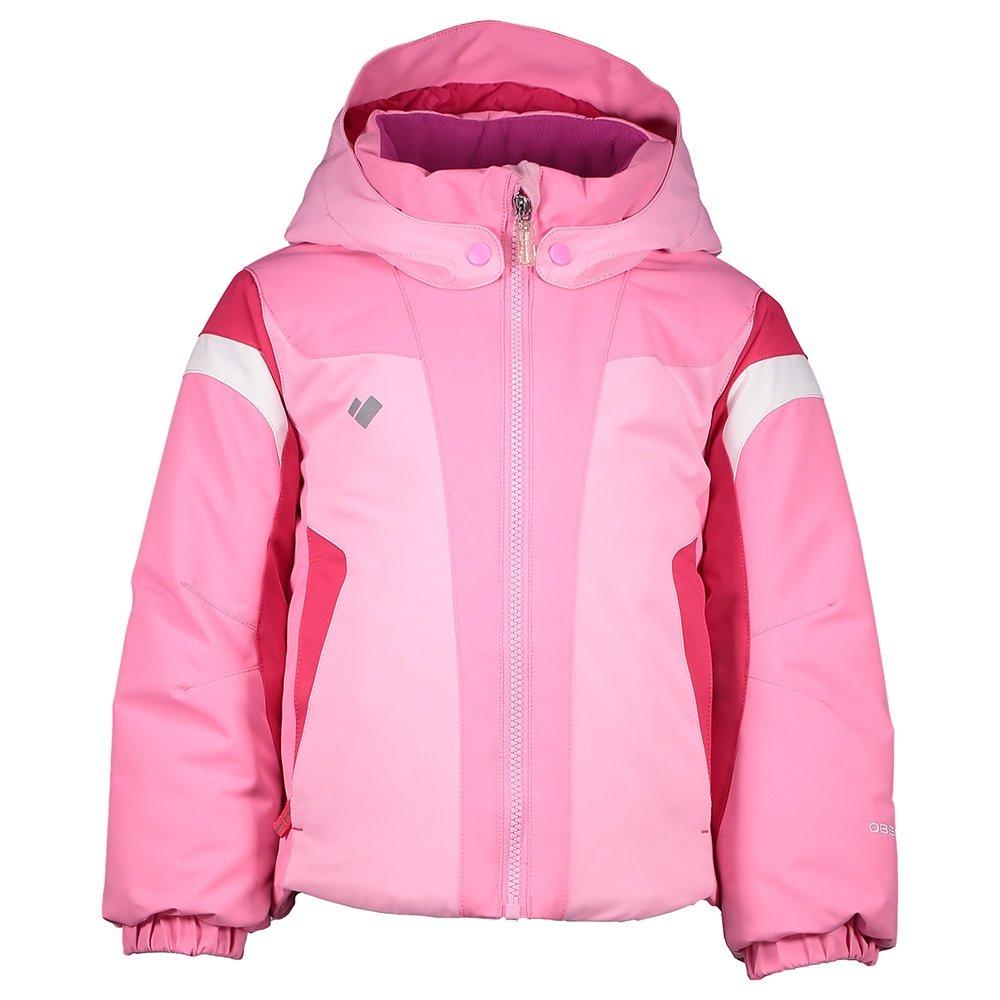 Obermeyer Twist Insulated Ski Jacket (Little Girls') - Sugar Berry