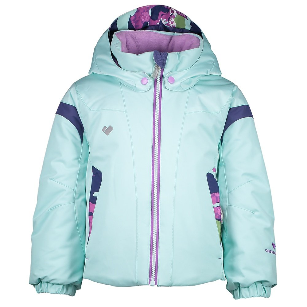 Obermeyer Twist Insulated Ski Jacket (Little Girls') - Sea Glass