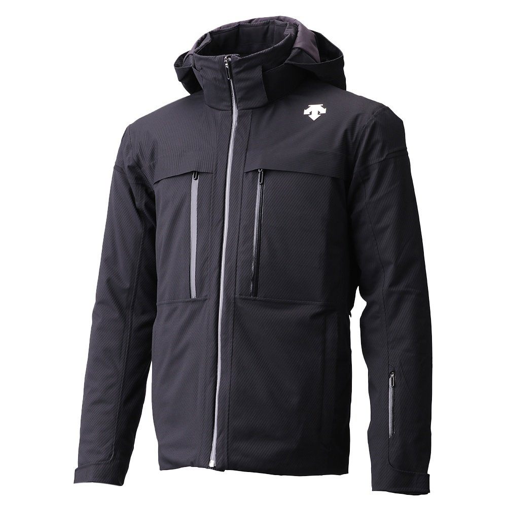 Descente Canada Ski Cross Down Jacket (Men's) - Carbon Black