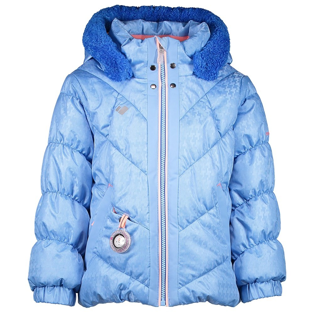 Obermeyer Bunny Hop Insulated Ski Jacket (Little Girls') - Bo Peep Blue