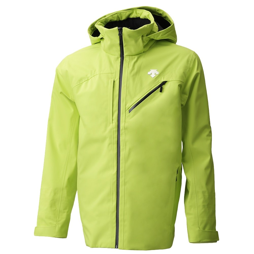 Descente Moe 3L Shell Ski Jacket (Men's) - Lime/Black
