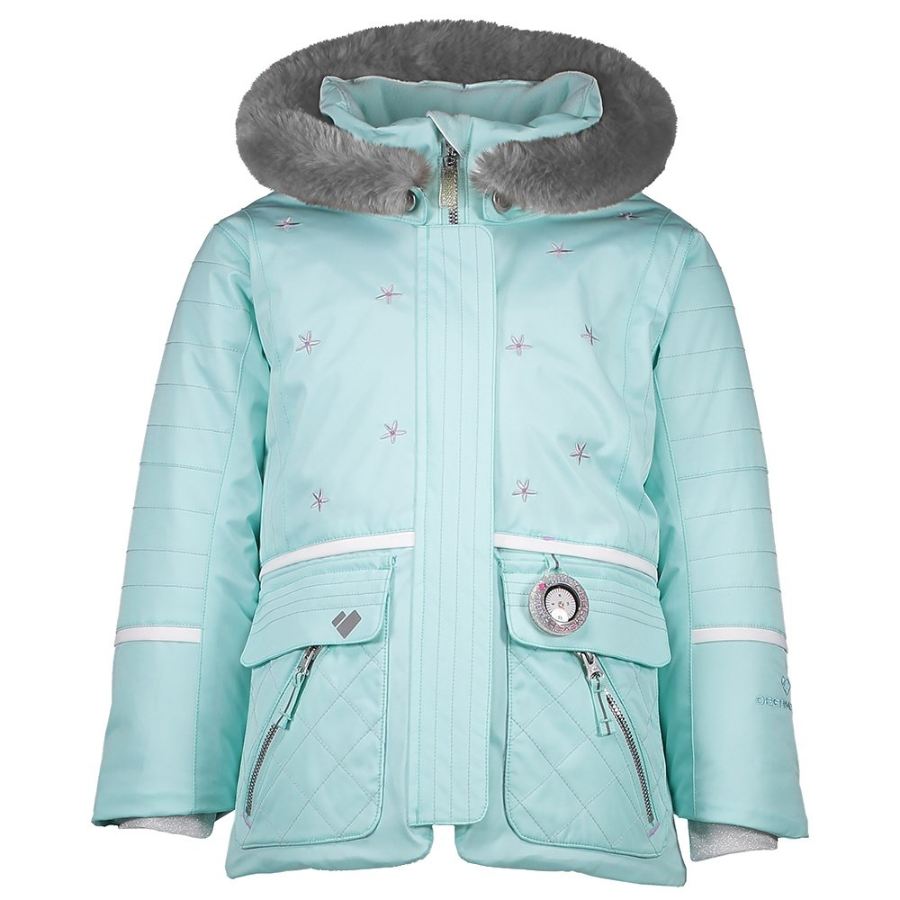 Obermeyer Lindy Insulated Ski Jacket (Little Girls') - Sea Glass