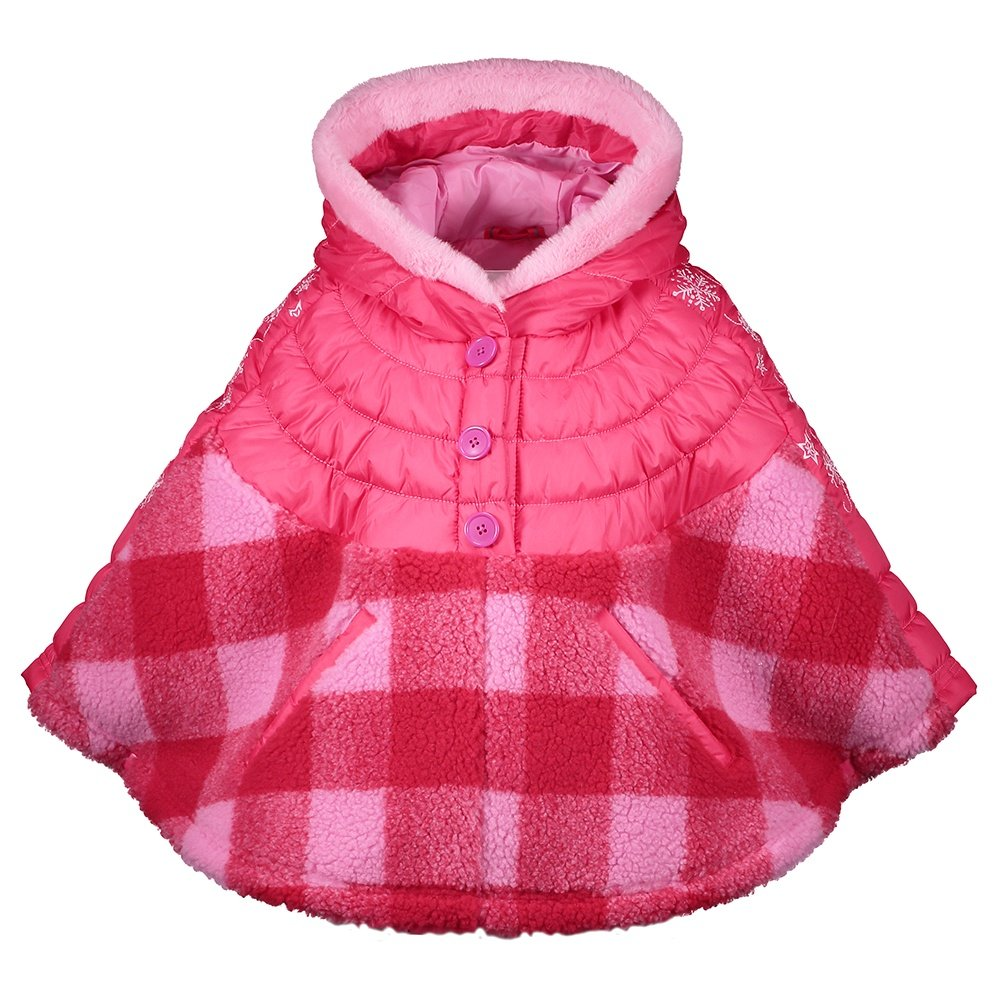 Obermeyer Minuet Insulated Cape (Little Girls') - Pink Out