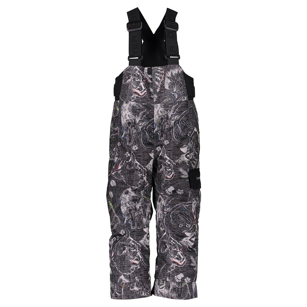 Obermeyer Volt Novelty Insulated Ski Pant (Little Boys') - Howl Grey Print