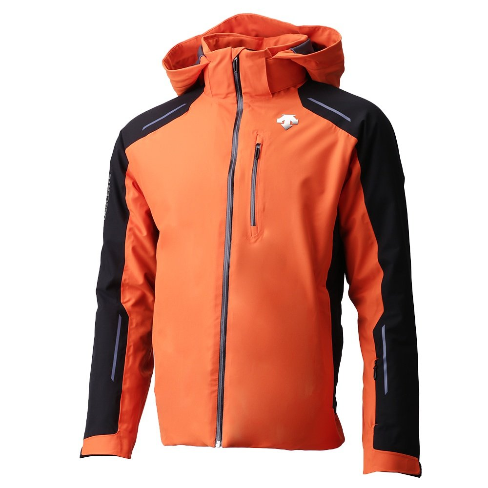 Descente Challenger Insulated Ski Jacket (Men's) - Blaze Orange/Black