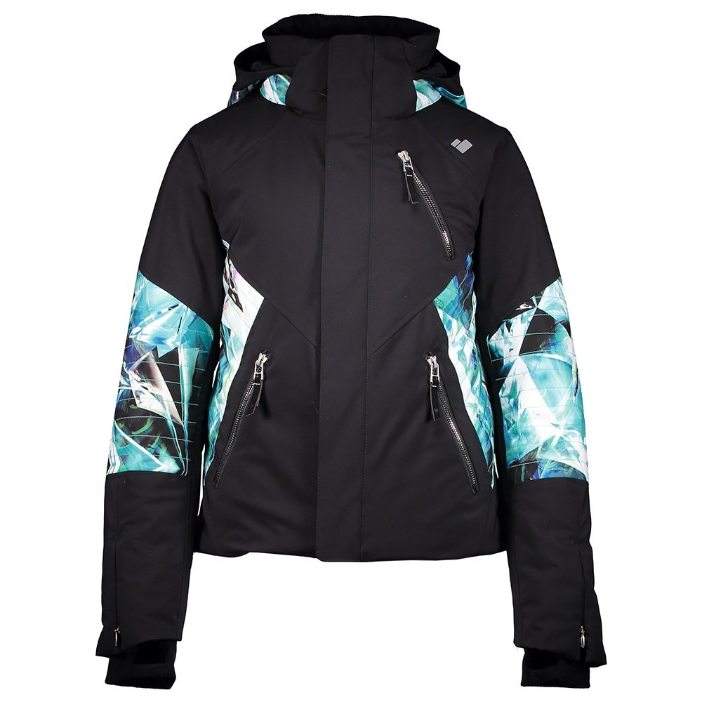 Obermeyer Rayla Insulated Ski Jacket (Girls') - Black