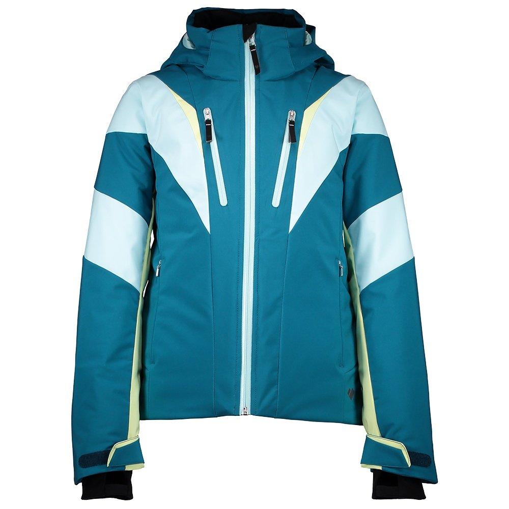 Obermeyer Gray Insulated Ski Jacket (Girls') - Cove