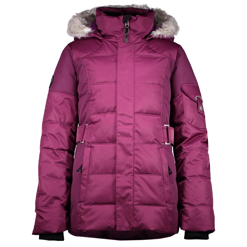 Obermeyer Tess Insulated Ski Jacket (Girls') - Metal Magenta