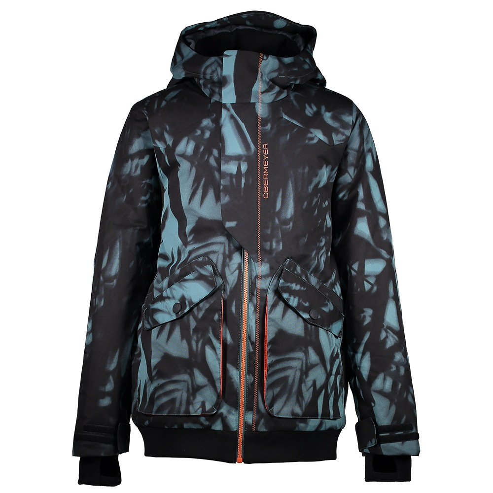 Obermeyer Gage Insulated Ski Jacket (Boys') - Palm Shadow Print
