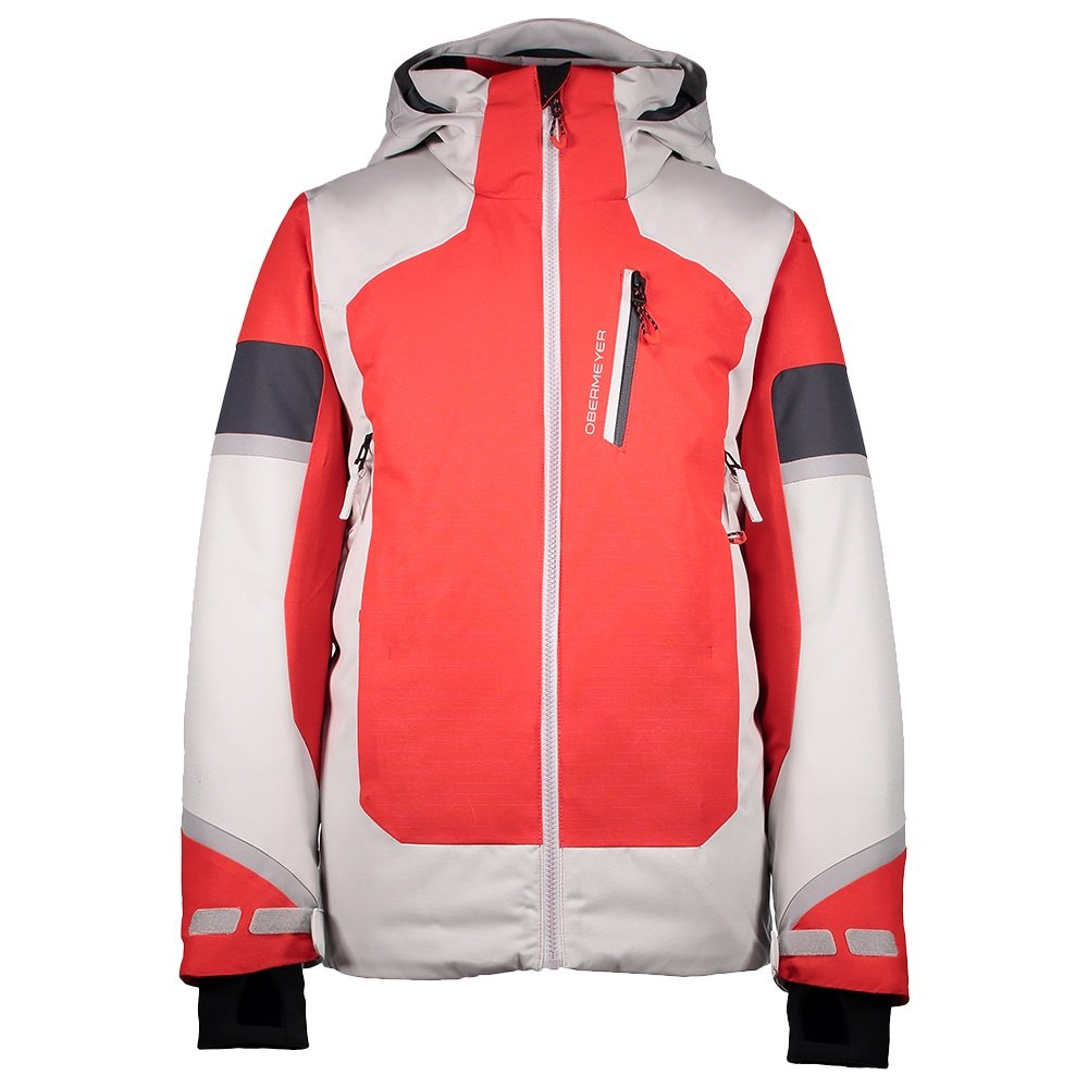 Obermeyer Outland Insulated Ski Jacket (Boys') - Red