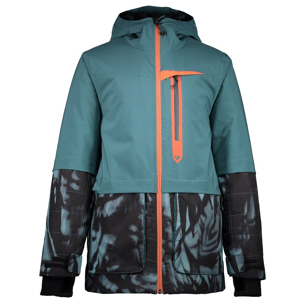 Obermeyer Axel Insulated Ski Jacket (Boys') - Deep Pacific